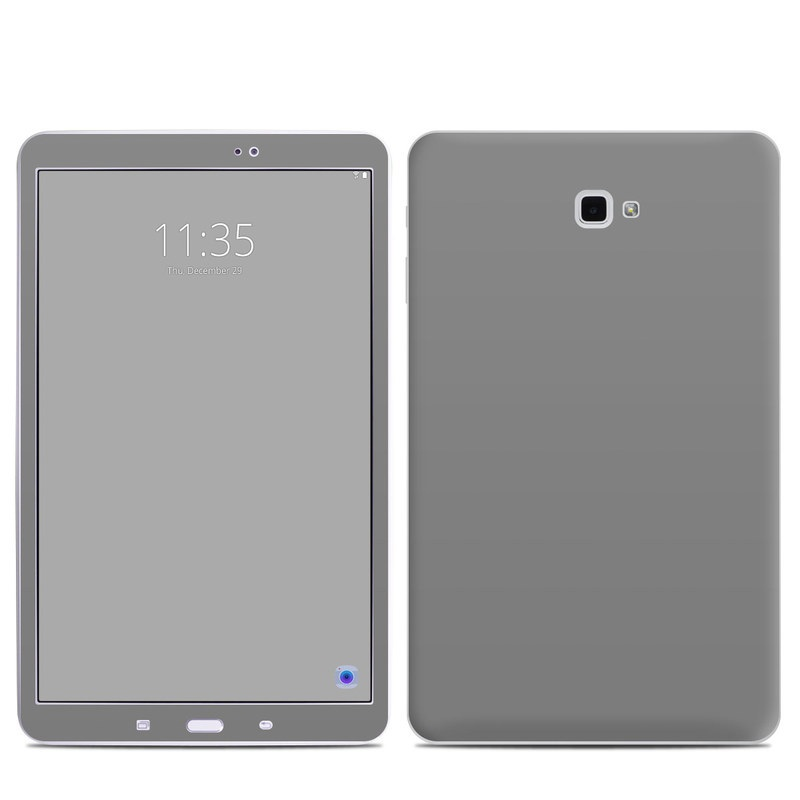 Samsung Galaxy Tab A 10.1 Skin design of Atmospheric phenomenon, Daytime, Grey, Brown, Sky, Calm, Atmosphere, Beige with gray colors