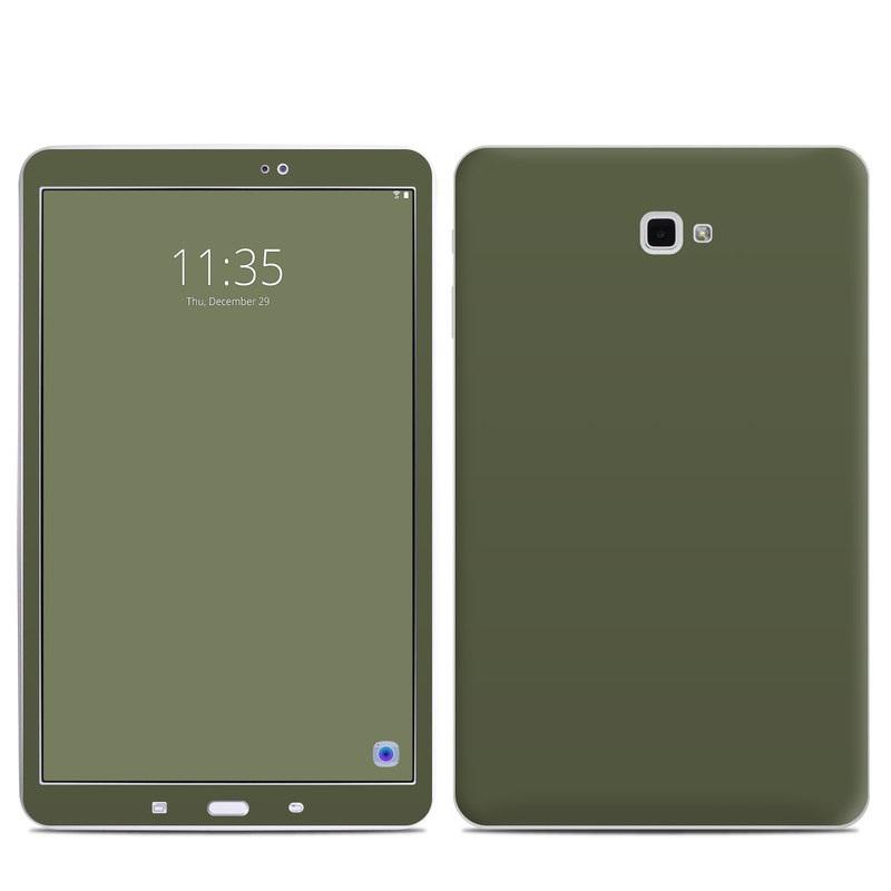 Solid State Olive Drab Samsung Galaxy Tab A 10.1 Skin