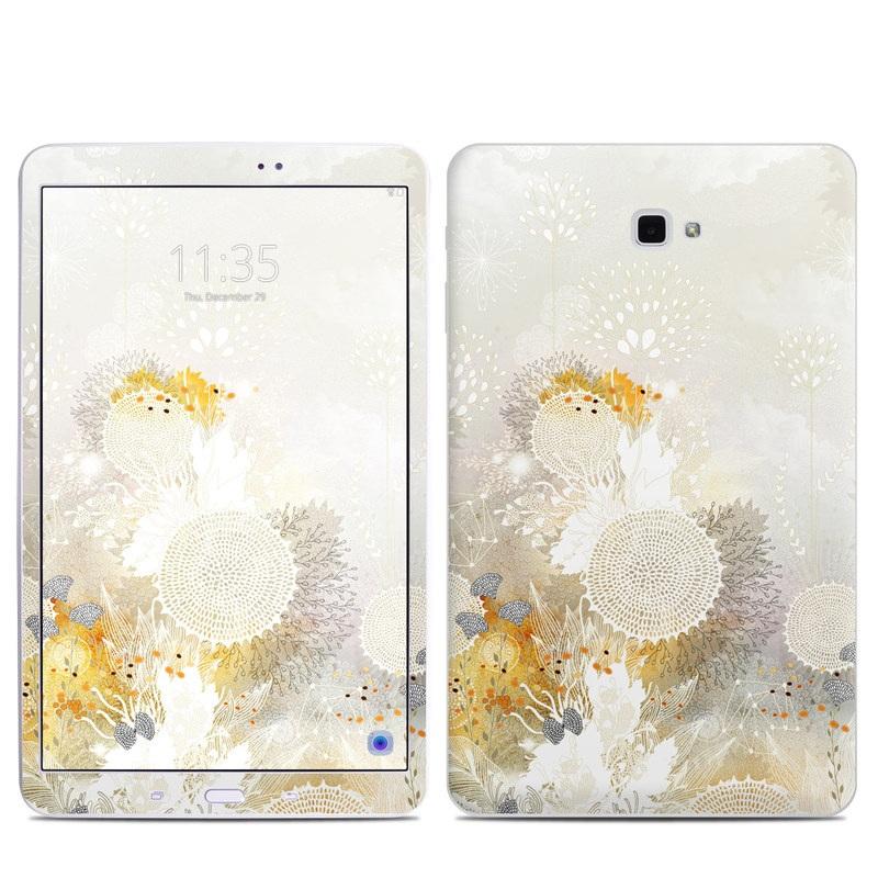White Velvet Samsung Galaxy Tab A 10.1 Skin