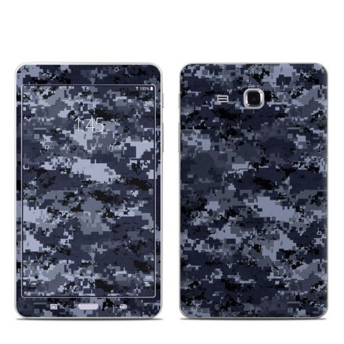 Digital Navy Camo Samsung Galaxy Tab A 7.0 Skin