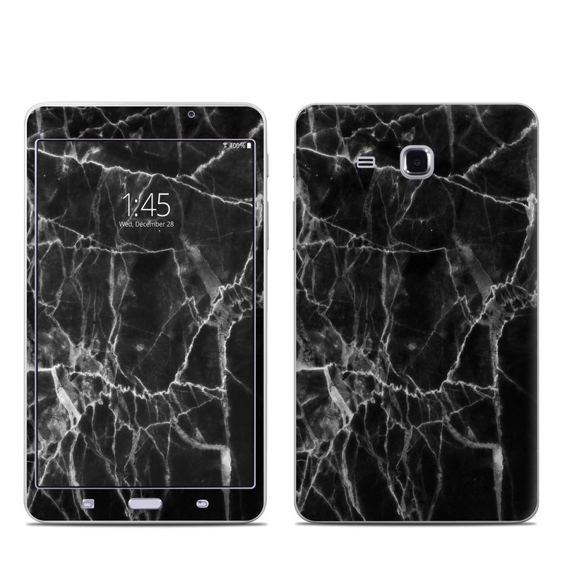 Samsung Galaxy Tab A 7.0 Skin design of Black, White, Nature, Black-and-white, Monochrome photography, Branch, Atmosphere, Atmospheric phenomenon, Tree, Sky with black, white colors
