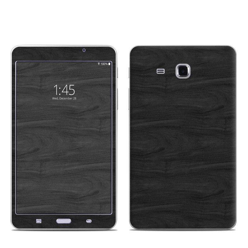 Black Woodgrain Samsung Galaxy Tab A 7.0 Skin