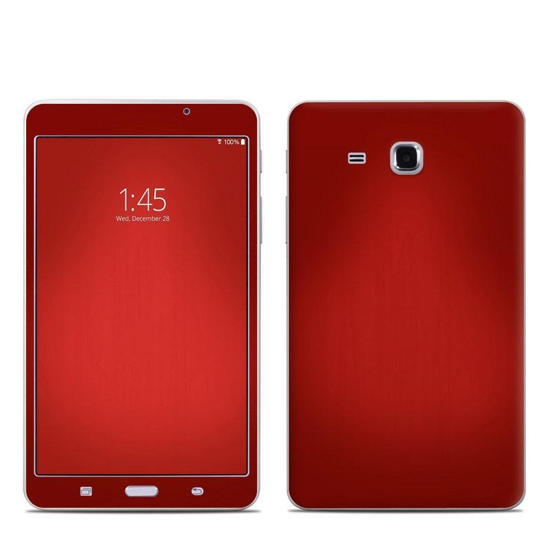 Red Burst Samsung Galaxy Tab A 7.0 Skin