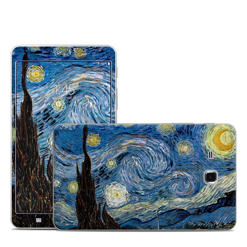 Starry Night Samsung Galaxy Tab A 7.0 Skin