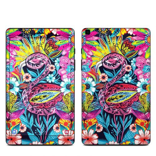 Flashy Flamingo Samsung Galaxy Tab A 8.0 2019 Skin