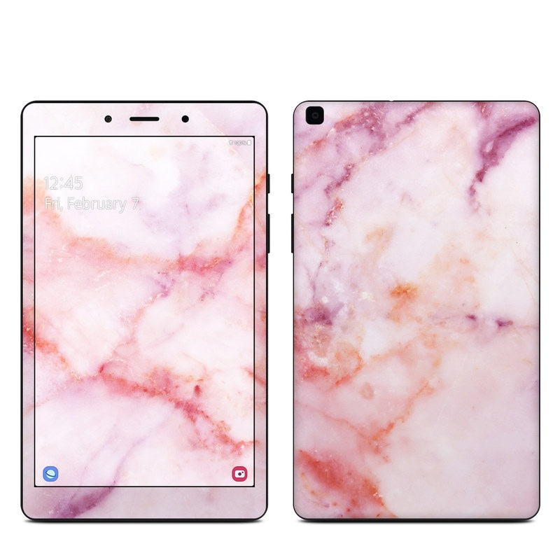 Samsung Galaxy Tab A 8.0 2019 Skin design of Pink, Skin, Flesh, Textile, Fur with pink, red, white, purple, orange colors