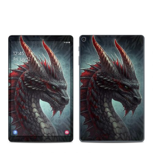 Black Dragon Samsung Galaxy Tab A 2019 10.1 Skin