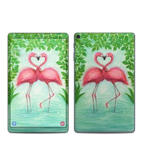 Flamingo Love Samsung Galaxy Tab A 10.1 2019 Skin