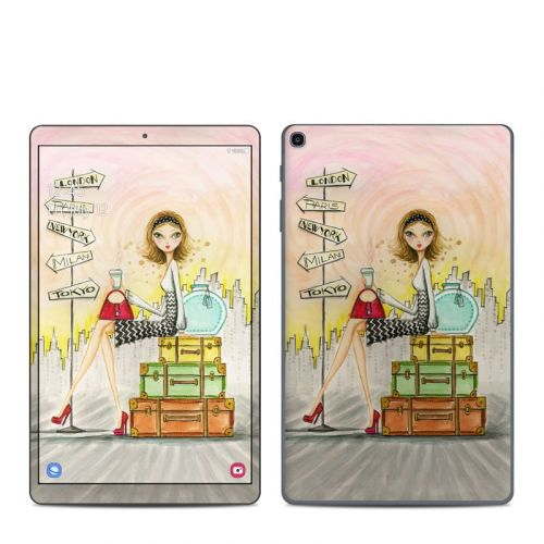 The Jet Setter Samsung Galaxy Tab A 2019 10.1 Skin