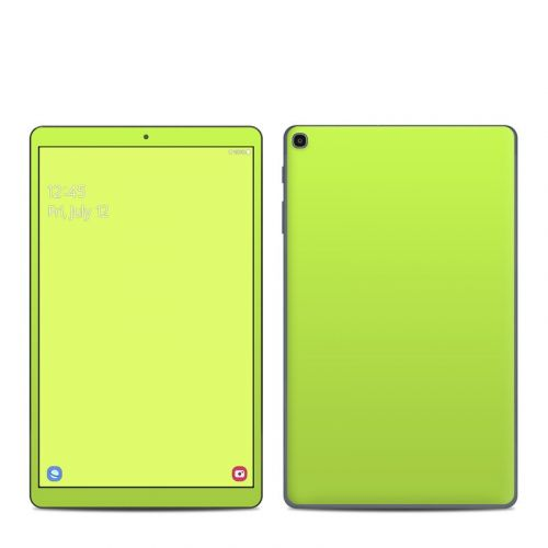 Solid State Lime Samsung Galaxy Tab A 2019 10.1 Skin