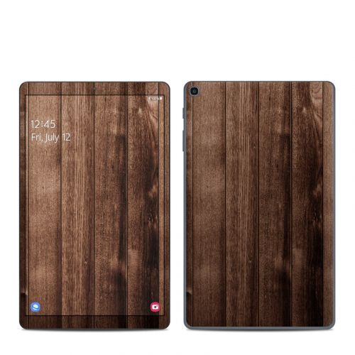 Stained Wood Samsung Galaxy Tab A 2019 10.1 Skin