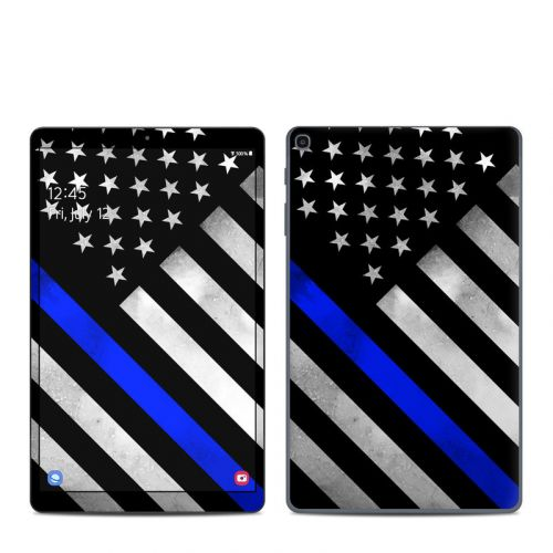Thin Blue Line Hero Samsung Galaxy Tab A 10.1 2019 Skin
