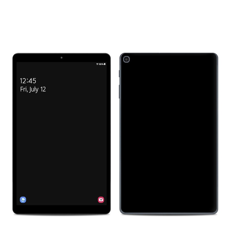 Samsung Galaxy Tab A 10.1 2019 Skin design of Black, Darkness, White, Sky, Light, Red, Text, Brown, Font, Atmosphere with black colors