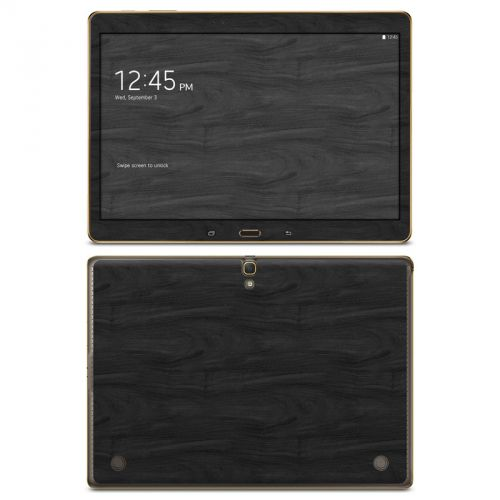 Black Woodgrain Galaxy Tab S 10.5 Skin
