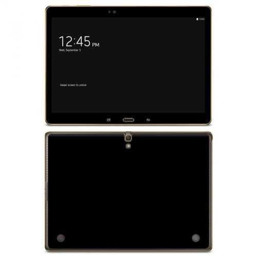 Solid State Black Galaxy Tab S 10.5 Skin