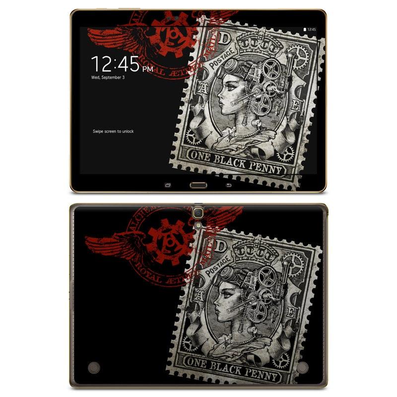Black Penny Galaxy Tab S 10.5 Skin