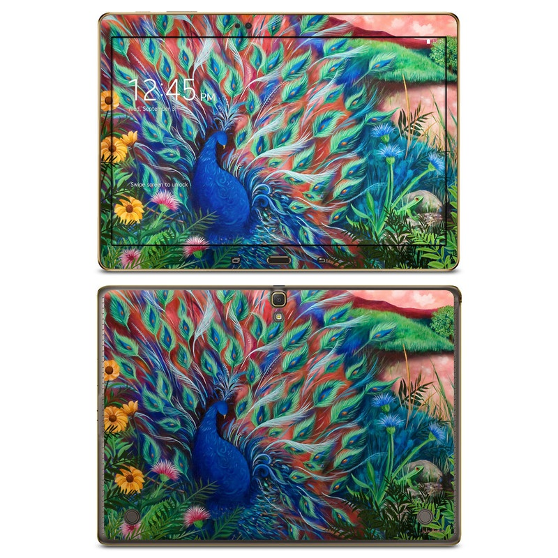 Coral Peacock Galaxy Tab S 10.5 Skin