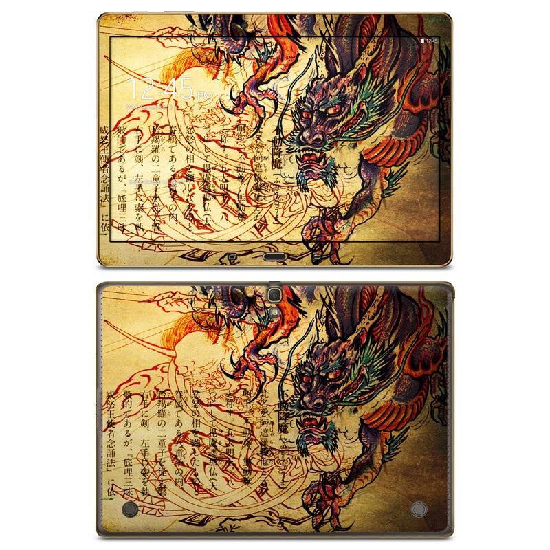 Dragon Legend Galaxy Tab S 10.5 Skin