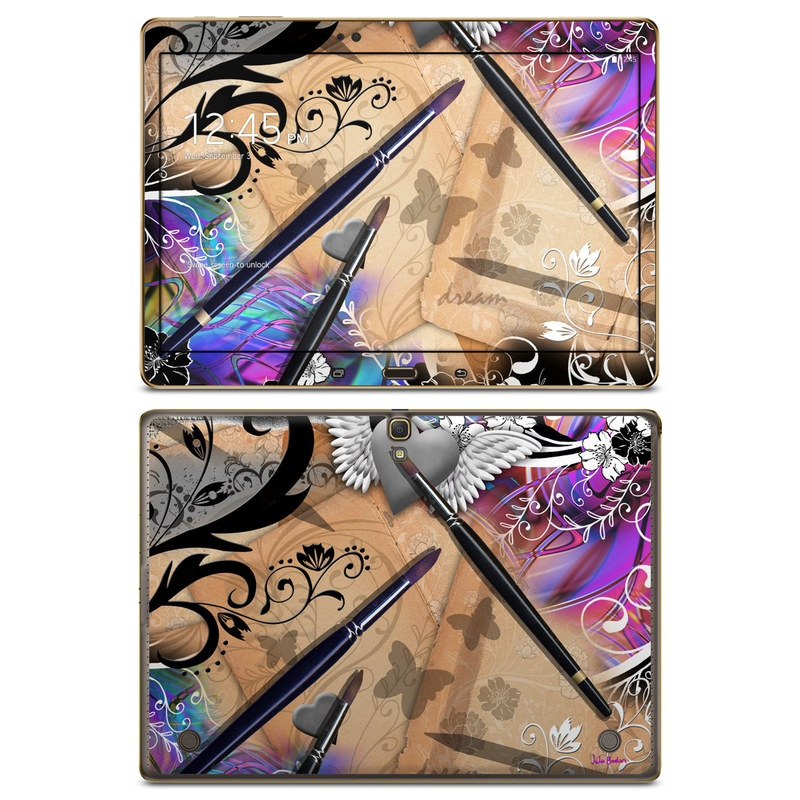 Dream Flowers Galaxy Tab S 10.5 Skin