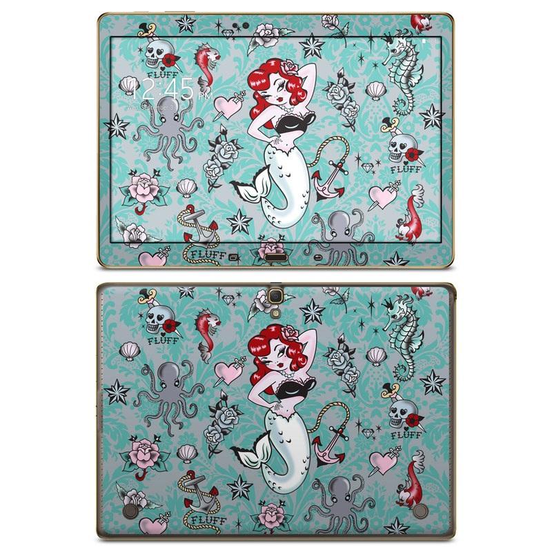 Molly Mermaid Galaxy Tab S 10.5 Skin