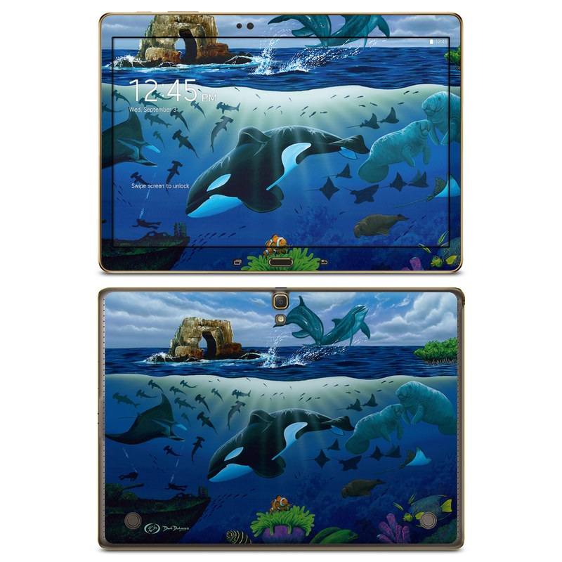 Oceans For Youth Galaxy Tab S 10.5 Skin
