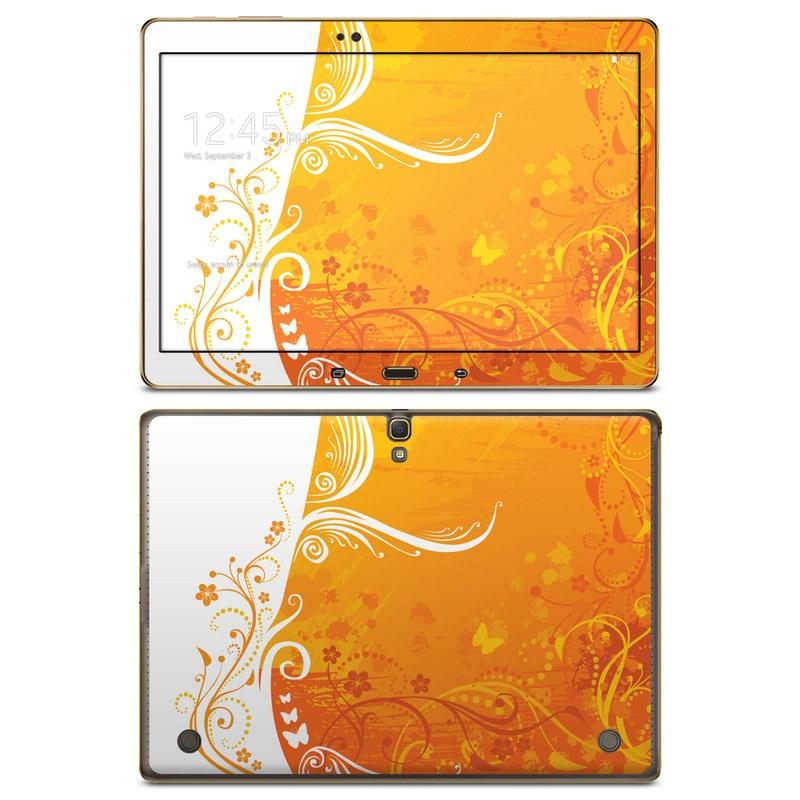 Orange Crush Galaxy Tab S 10.5 Skin