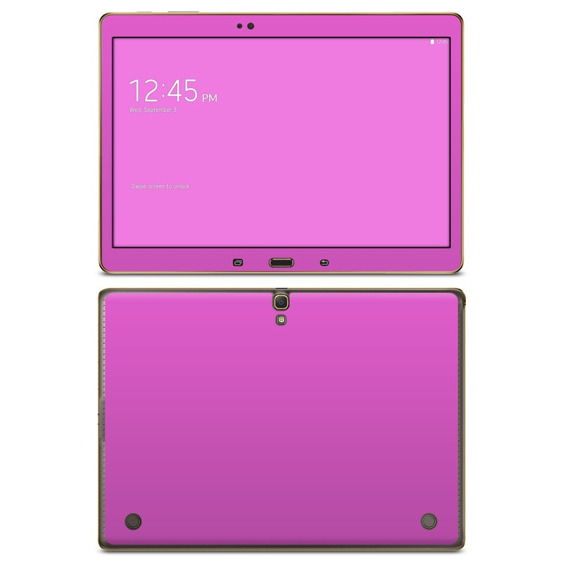 Solid State Vibrant Pink Galaxy Tab S 10.5 Skin