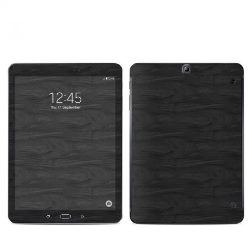 Black Woodgrain Galaxy Tab S2 9.7 Skin