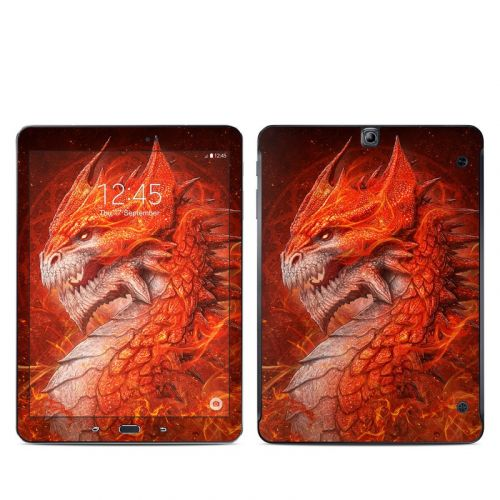 Flame Dragon Galaxy Tab S2 9.7 Skin