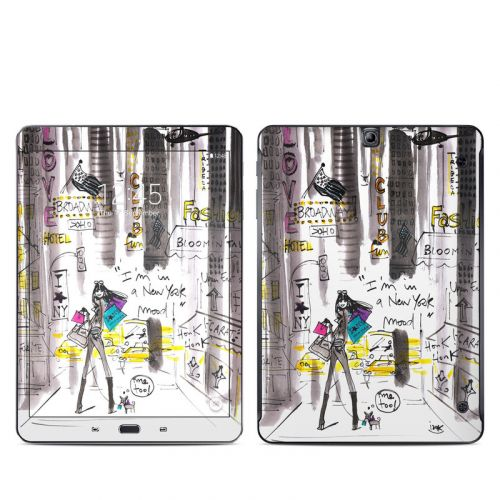 My New York Mood Galaxy Tab S2 9.7 Skin