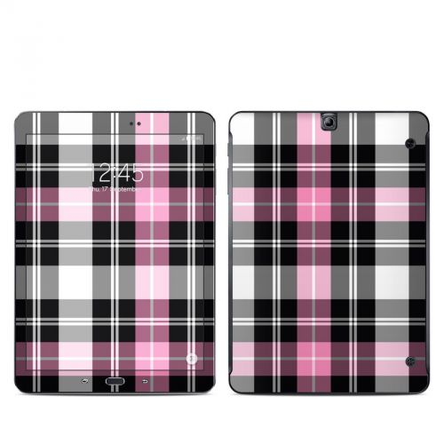 Pink Plaid Galaxy Tab S2 9.7 Skin