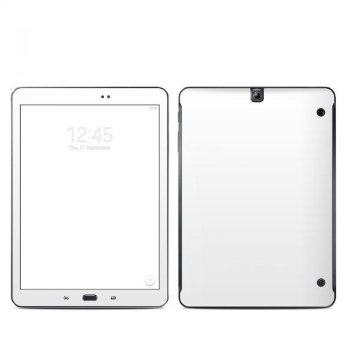 Solid State White Galaxy Tab S2 9.7 Skin