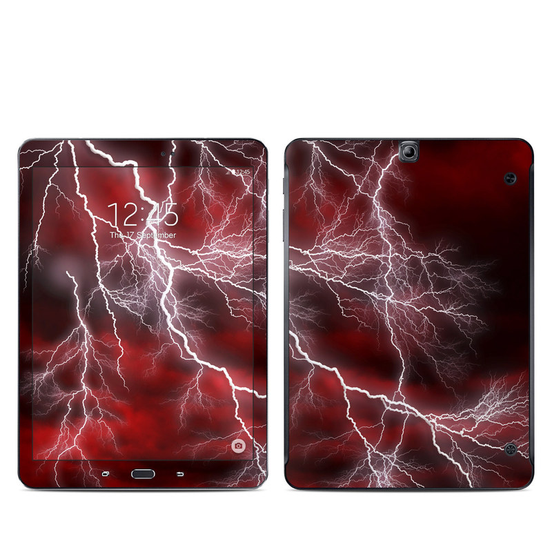 Apocalypse Red Galaxy Tab S2 9.7 Skin