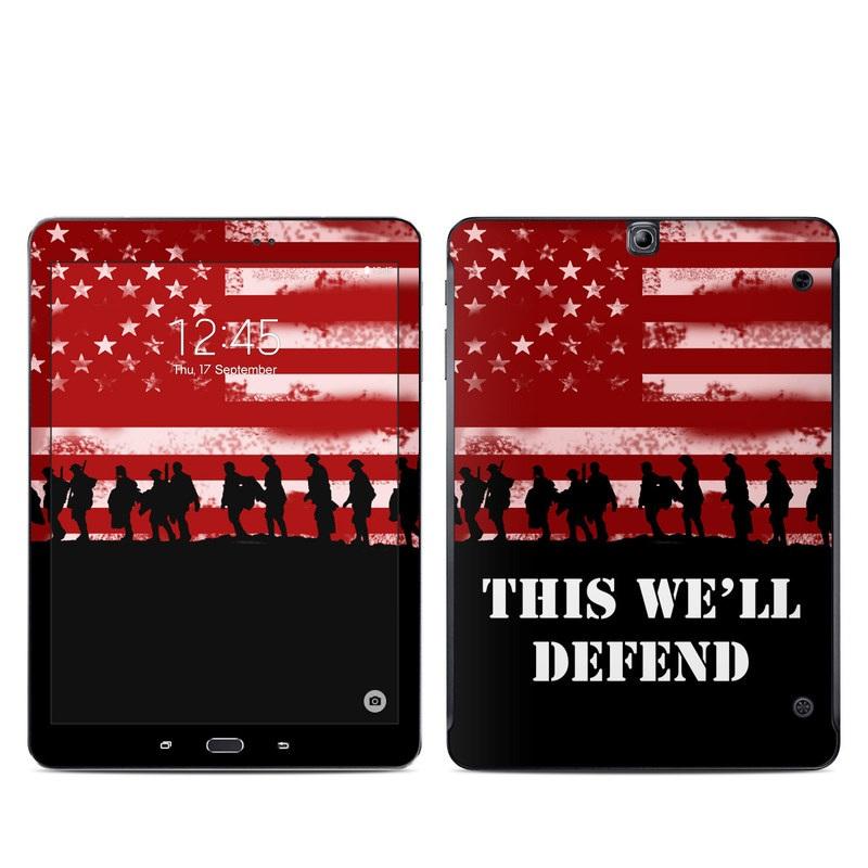 Defend Galaxy Tab S2 9.7 Skin