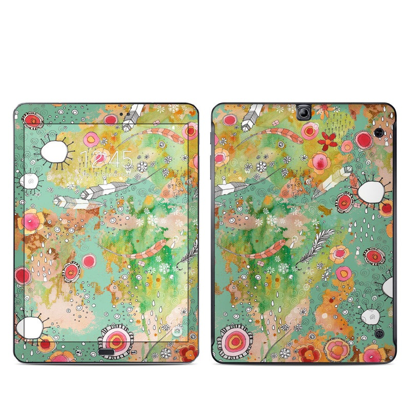 Feathers Flowers Showers Galaxy Tab S2 9.7 Skin