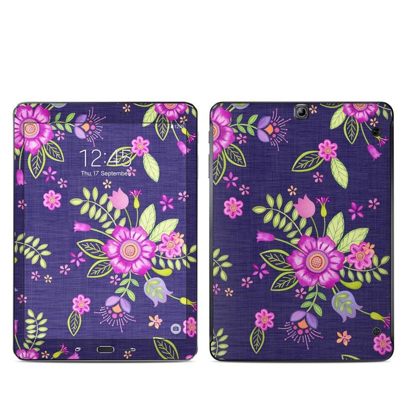 Folk Floral Galaxy Tab S2 9.7 Skin