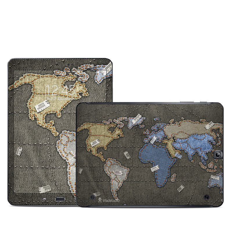Jean Map Galaxy Tab S2 9.7 Skin