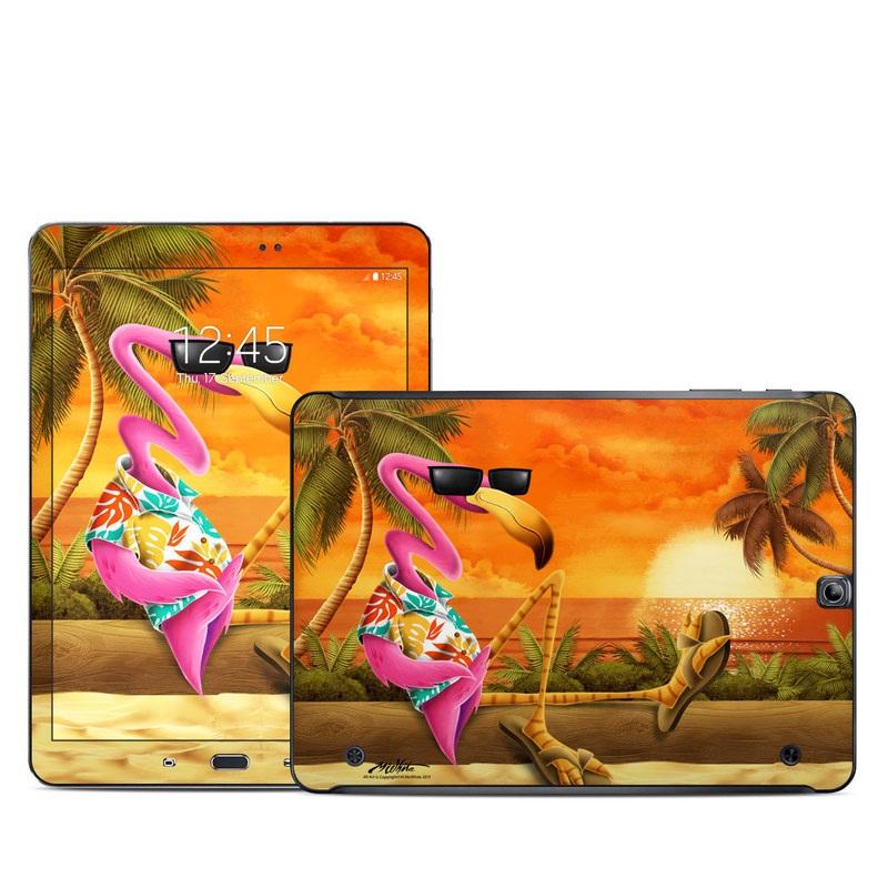 Sunset Flamingo Galaxy Tab S2 9.7 Skin