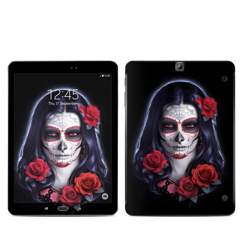 Sugar Skull Rose Galaxy Tab S2 9.7 Skin
