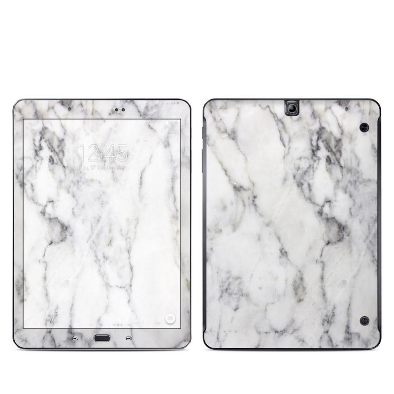 White Marble Galaxy Tab S2 9.7 Skin