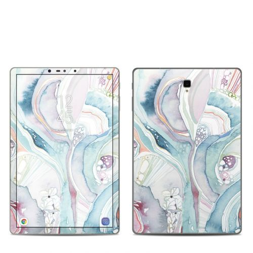 Abstract Organic Samsung Galaxy Tab S4 Skin