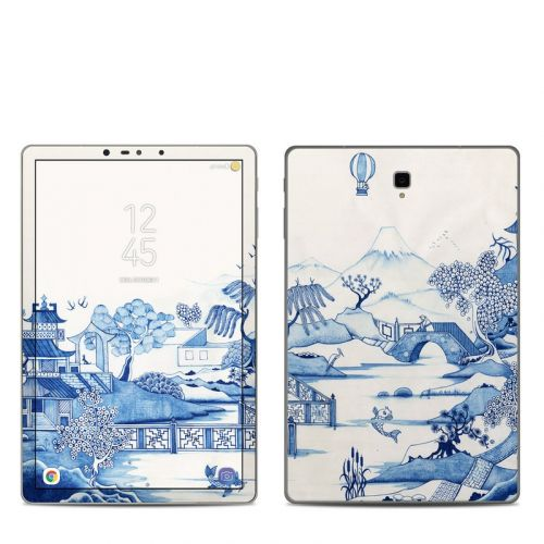 Blue Willow Samsung Galaxy Tab S4 Skin
