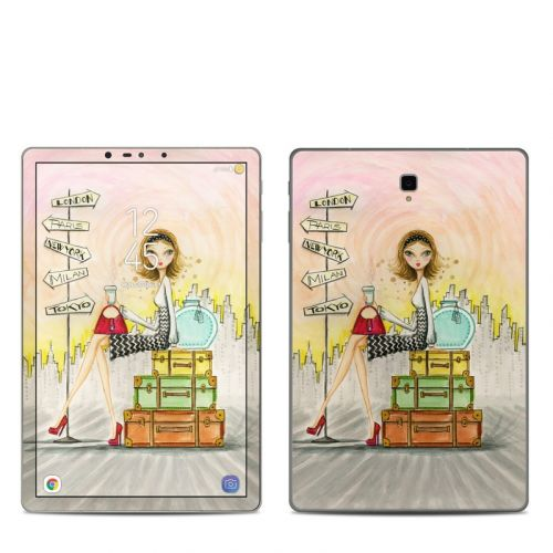The Jet Setter Samsung Galaxy Tab S4 Skin