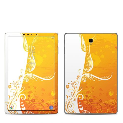 Orange Crush Samsung Galaxy Tab S4 Skin