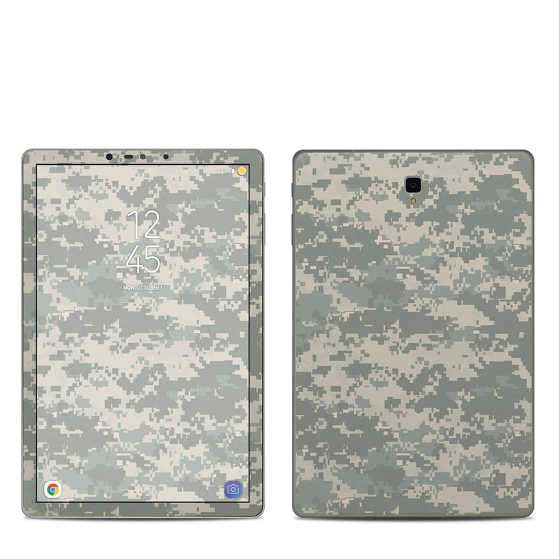 Samsung Galaxy Tab S4 Skin design of Military camouflage, Green, Pattern, Uniform, Camouflage, Design, Wallpaper with gray, green colors