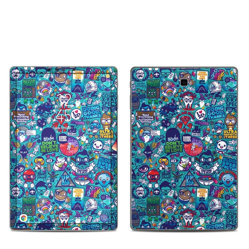 Cosmic Ray Samsung Galaxy Tab S4 Skin
