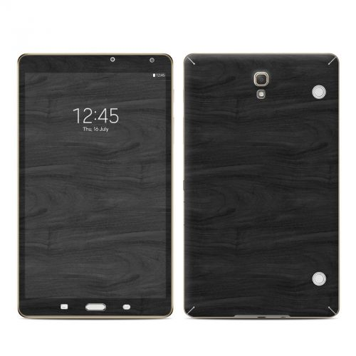 Black Woodgrain Galaxy Tab S 8.4 Skin