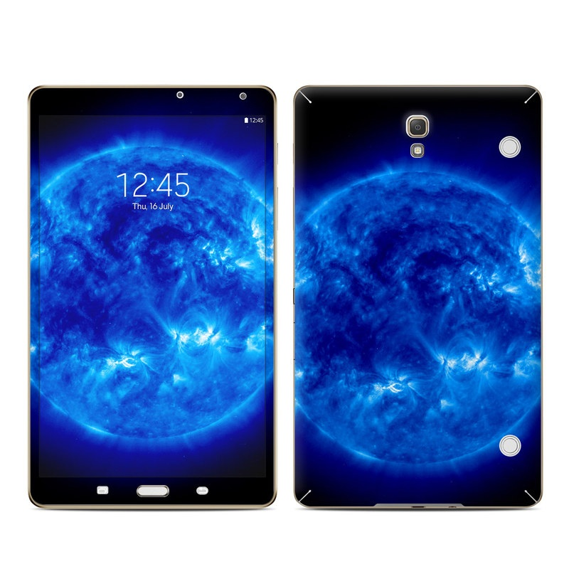 Samsung Galaxy Tab S 8.4 Skin design of Blue, Astronomical object, Outer space, Atmosphere, Electric blue, Earth, Planet, Water, Space, Universe with blue, black colors