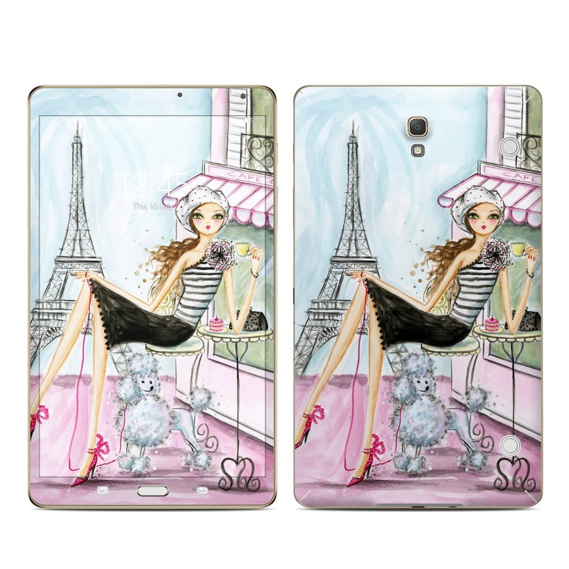 Cafe Paris Galaxy Tab S 8.4 Skin