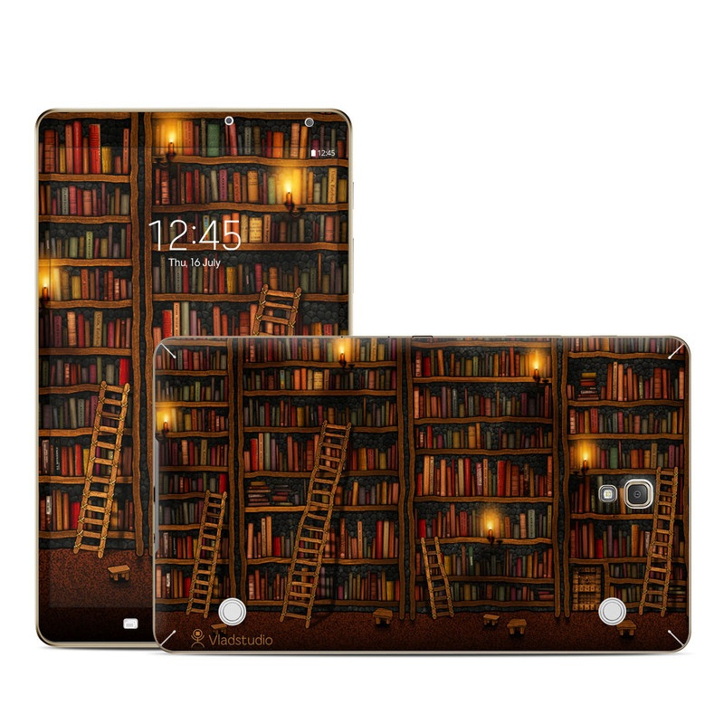 Library Galaxy Tab S 8.4 Skin